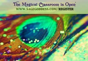 The magical classroom is open!