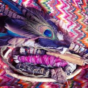 Smudging 101: How to clear your space with sacred herbs & resins