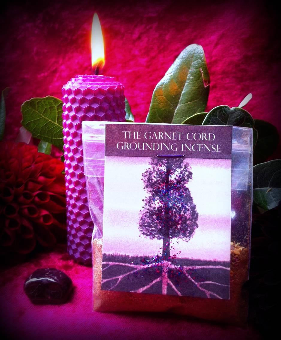 Simple Ritual 5: The Garnet Cord grounding
