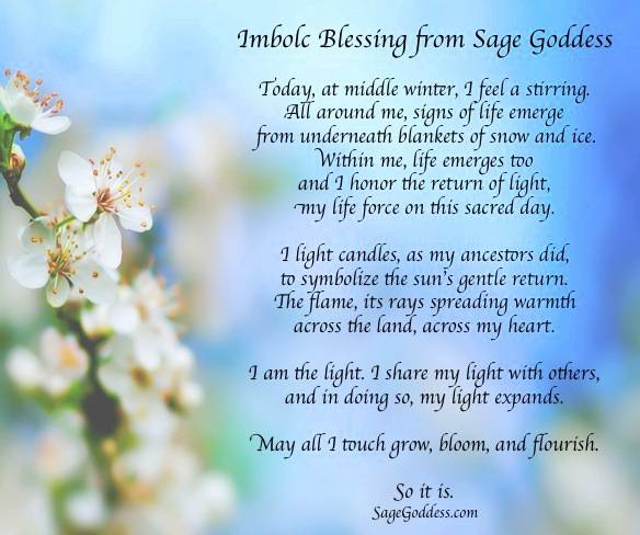 Imbolc blessing
