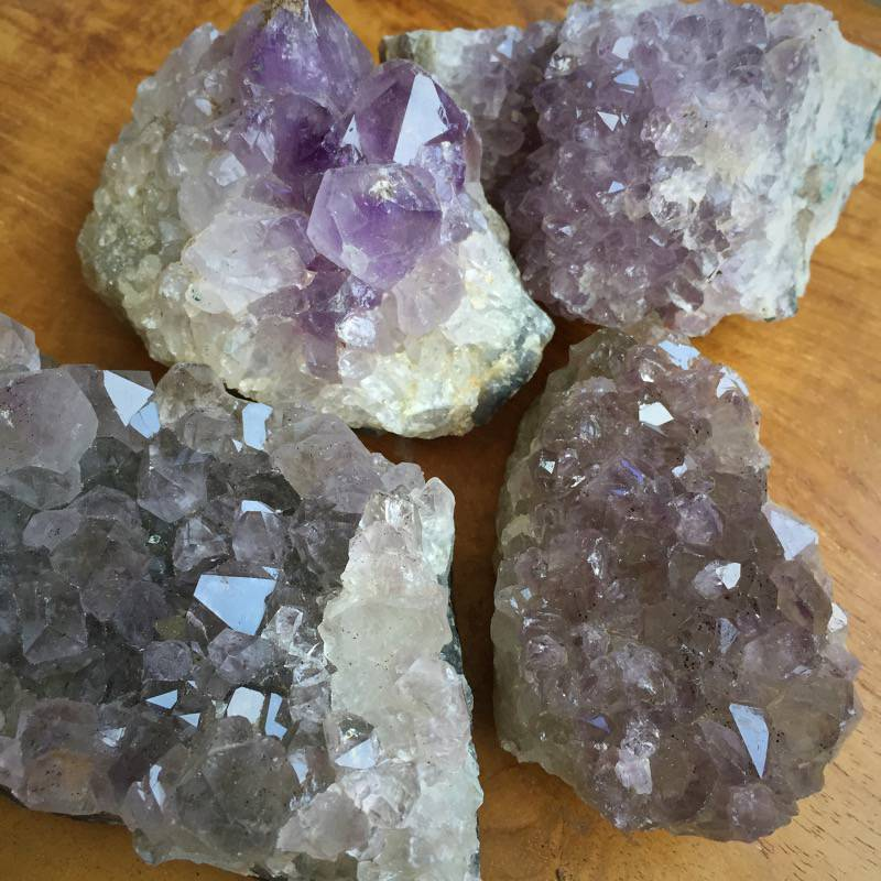 Amethyst Druzy Stars to deepen your spiritual connection