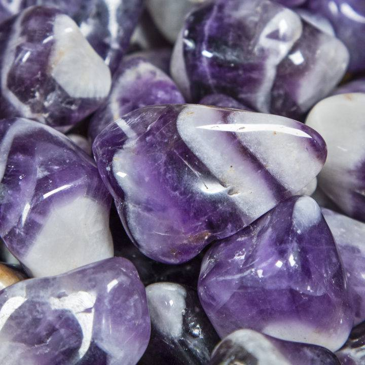 Medium Tumbled Dream Amethyst