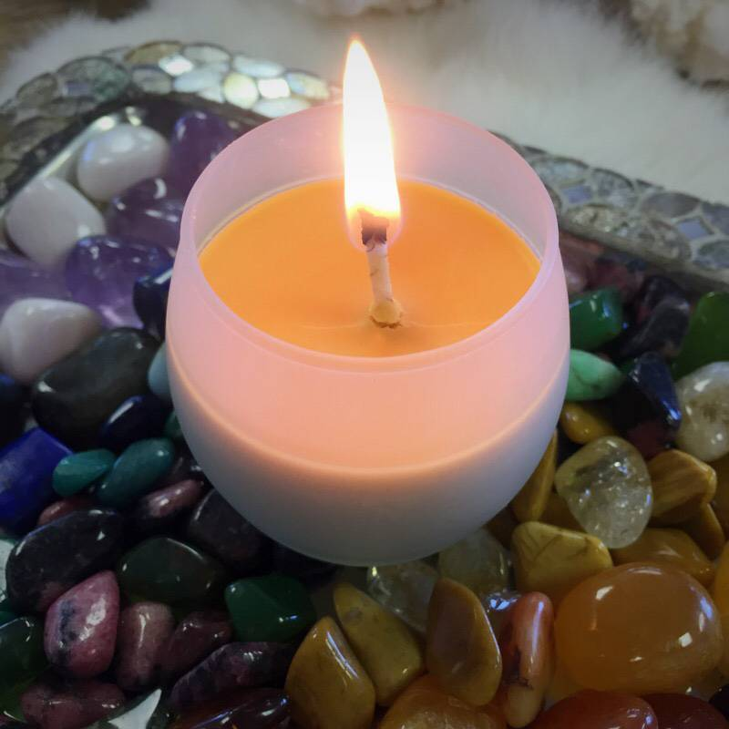 """Nourished-Self Care Candle for self-care and """"me"""" time"""