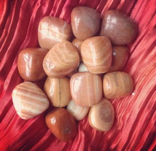 Natural Red Malachite - stone of enjoyment