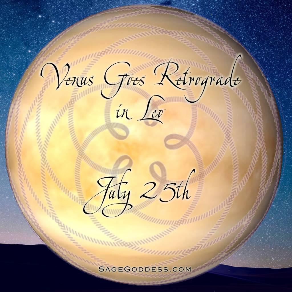 Why Venus Retrograde matters to you - Sage Goddess