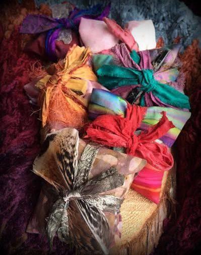 Custom sacred healing medicine bundle: Stone
