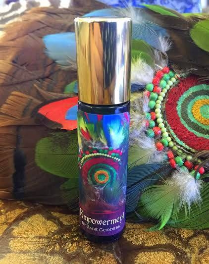Empowerment perfume to move forward with total confidence & courage