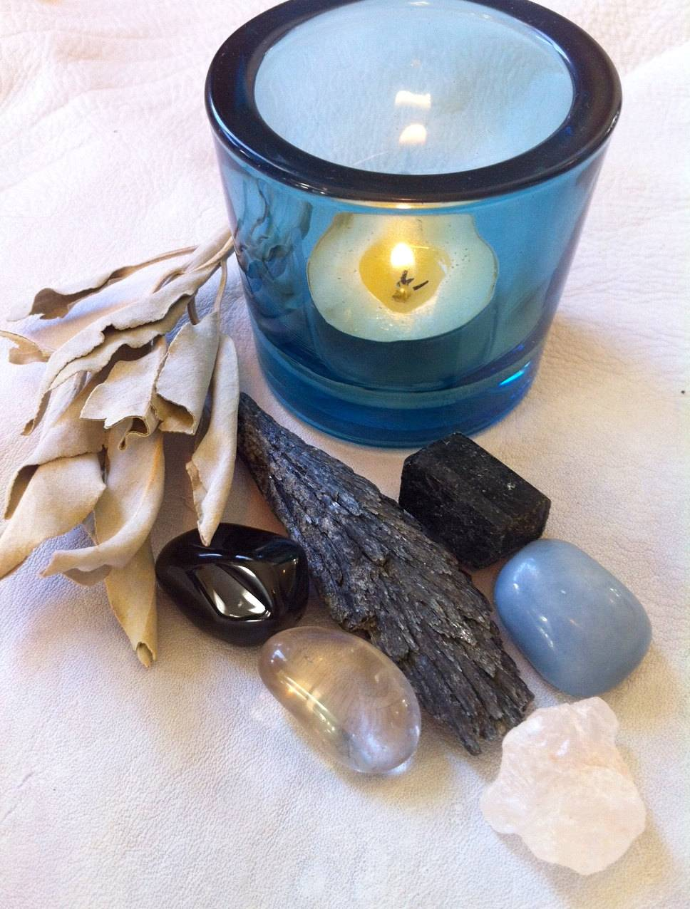 Energetic clearing gem and boundary management completer set with descriptions