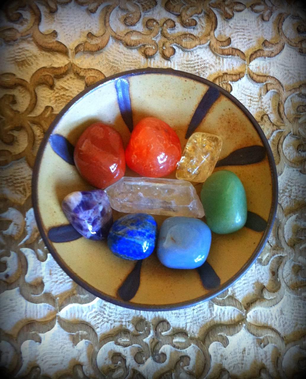 Chakra Alignment gemstone set - root