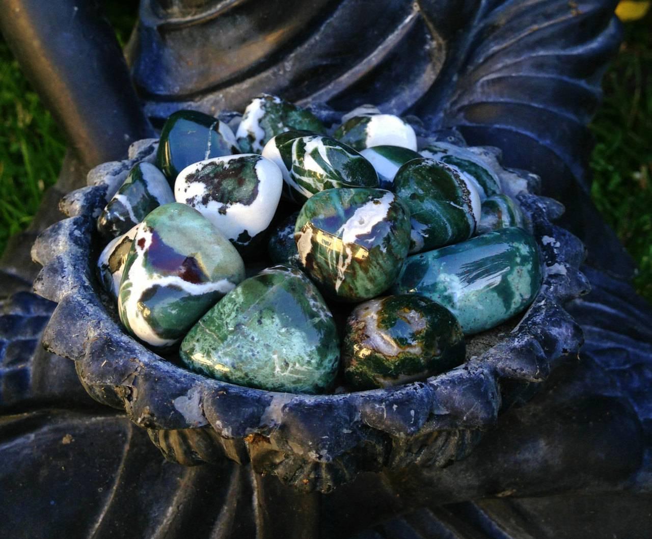 Green Sardonyx - The Courage Stone for wisdom