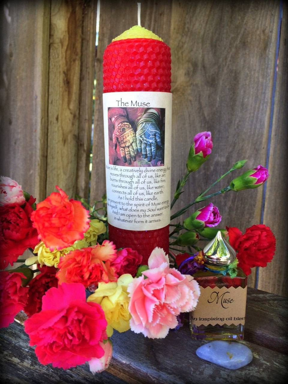 INVOKE YOUR MUSE Gift Set: Muse invocation candle