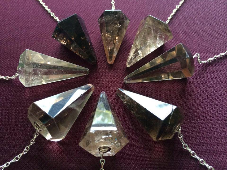 Large smoky quartz pendulum for energy work, dowsing, and divination - Sage  Goddess