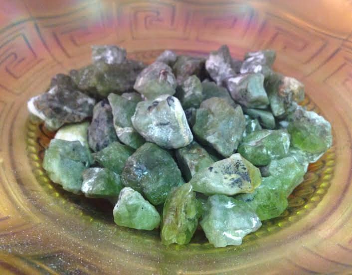 Natural Green Peridot - For abundance