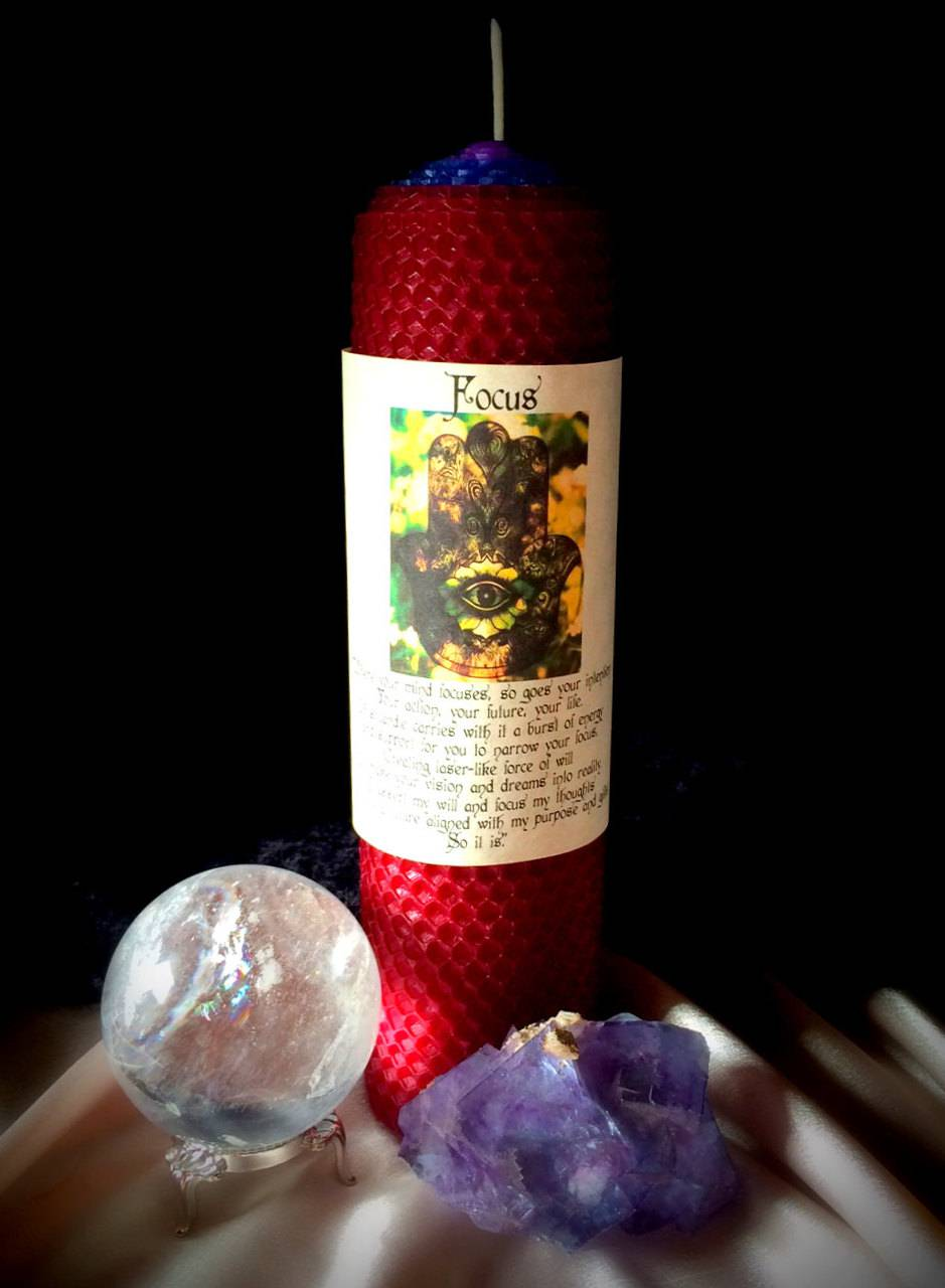 FOCUS candle - For empowerment