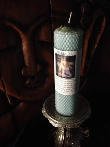 MEDITATION candle - For being present