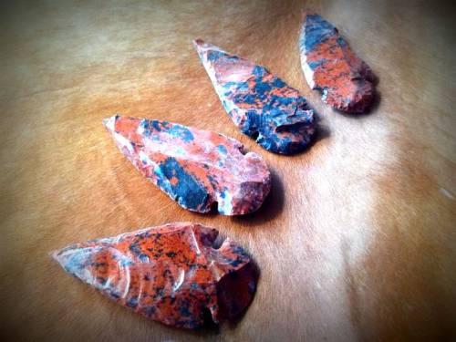 Large Mahogany Obsidian Arrowhead - The Warrior's Talisman - for protection