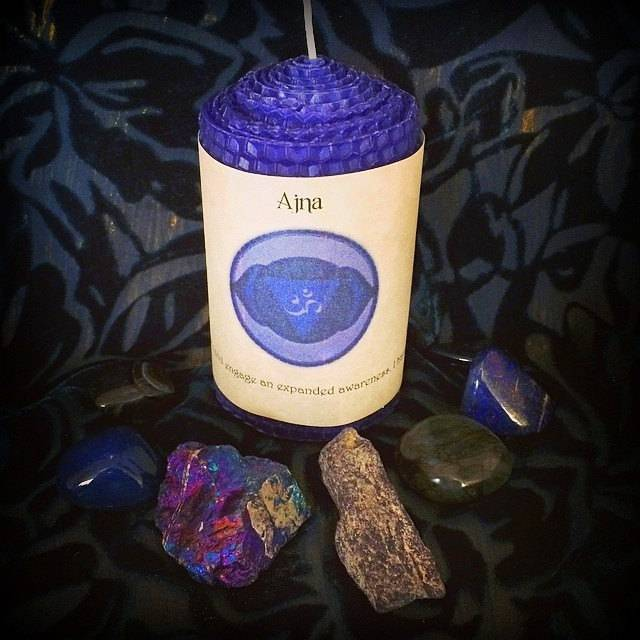 Third Eye Chakra altar set for intuition