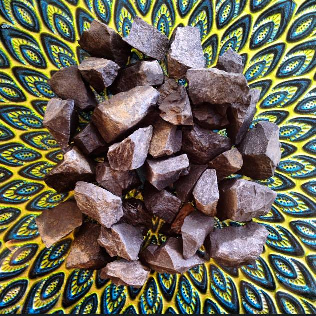 Basalt/River Rock Stone for creativity and allowing energy to flow