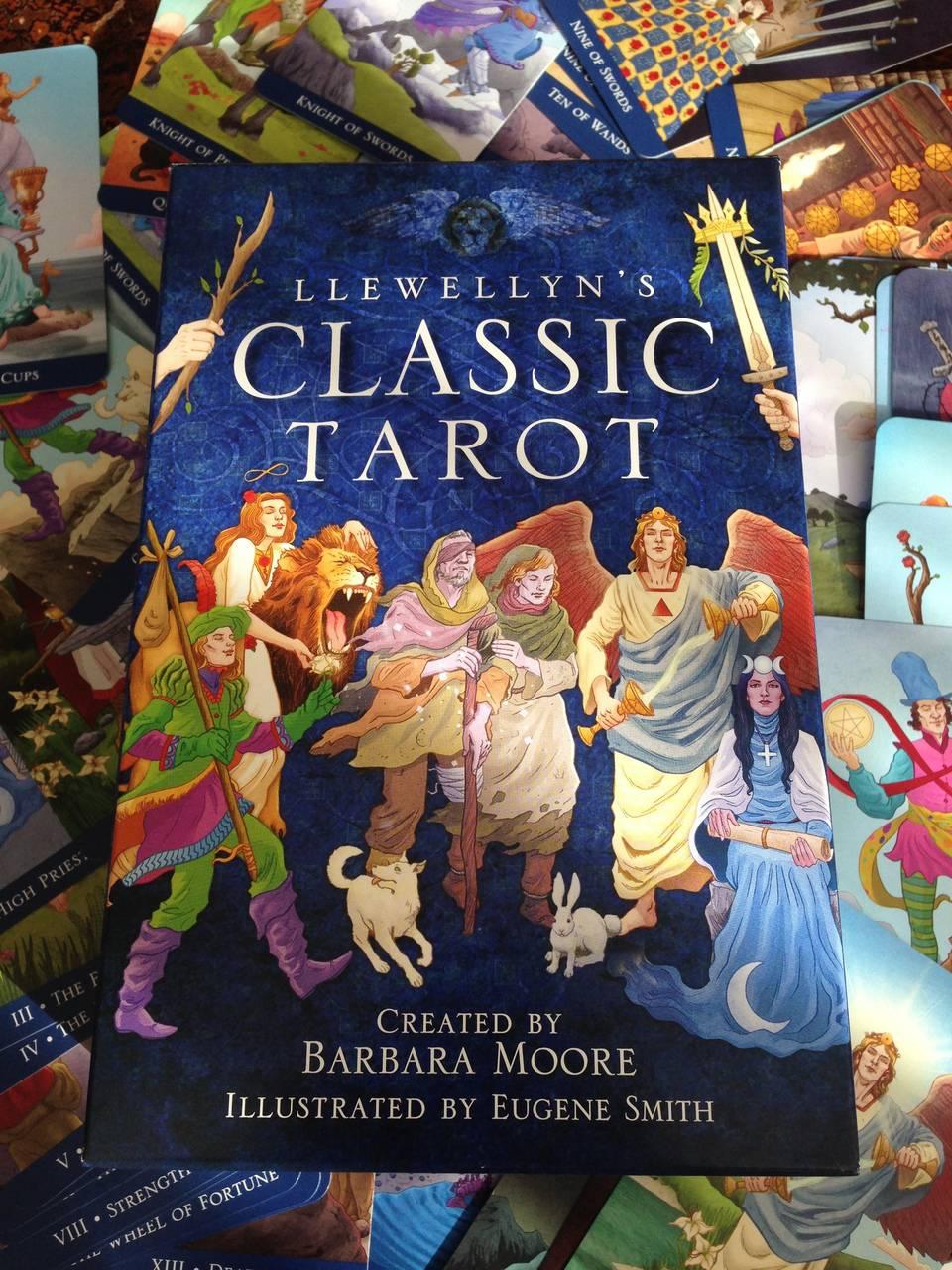 Llewellyn's Classic Tarot created by Barbara Moore