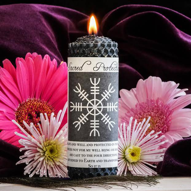 sacred protection candle