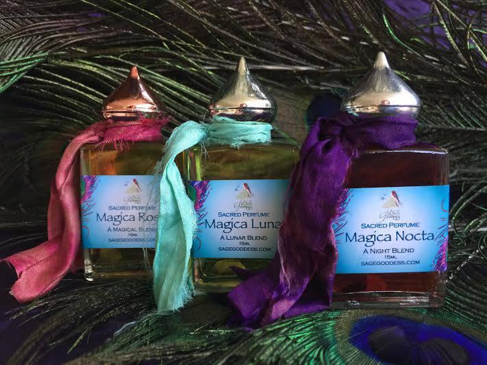 Three Magicas perfume fragrance collection