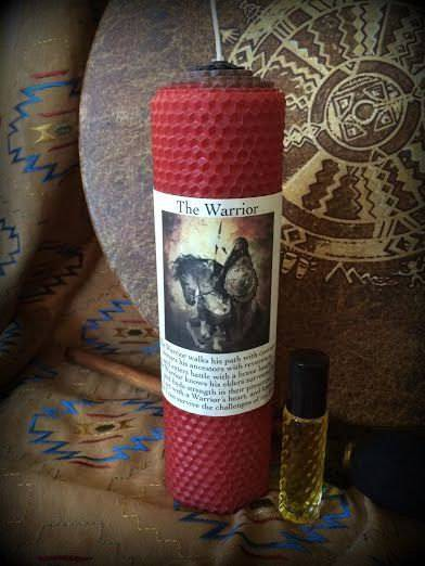 The Warrior gift set - For channeling and honoring the Warrior/ess within