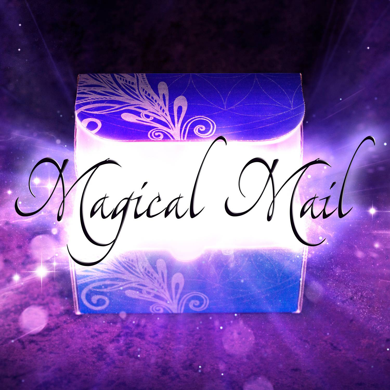 Magical-Mail-Open-Edited-Text-Box-Purple-Square