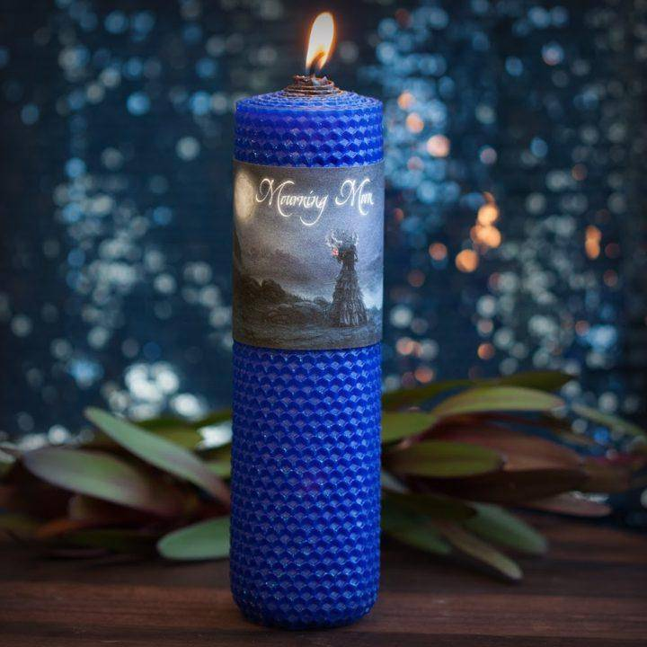 Mourning Moon Candle