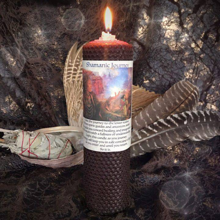 Shamanic_Journey Rolled_Candle_1of1_1_25