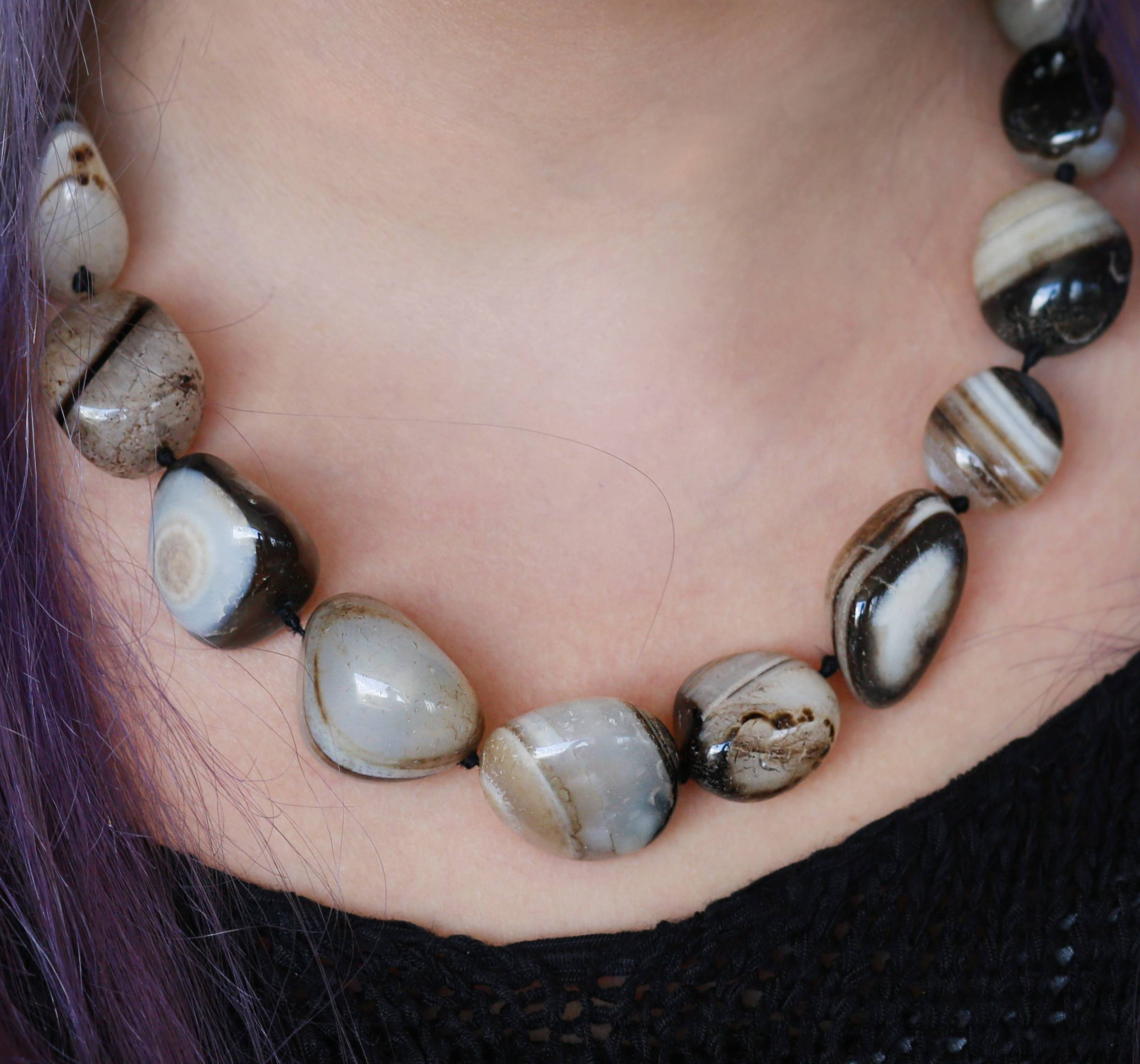 agate necklaces