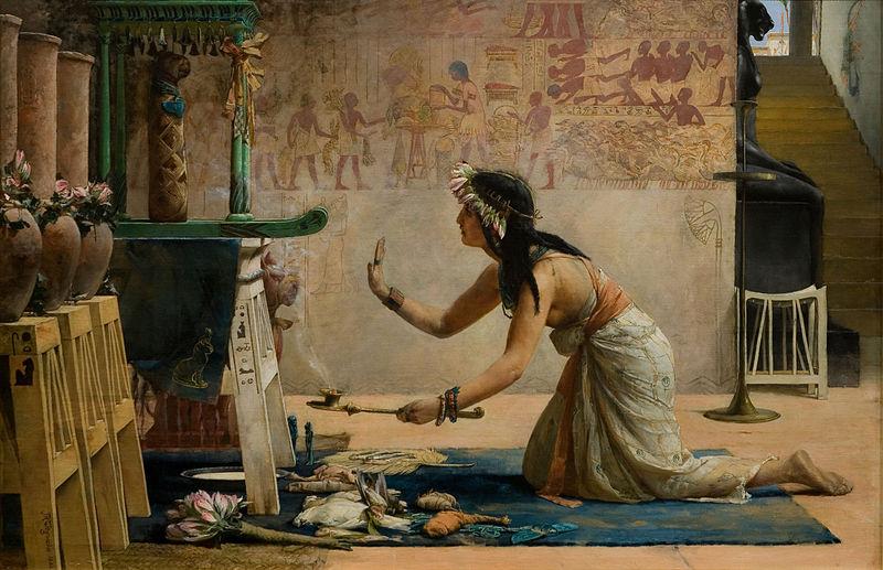 priestess serving ka