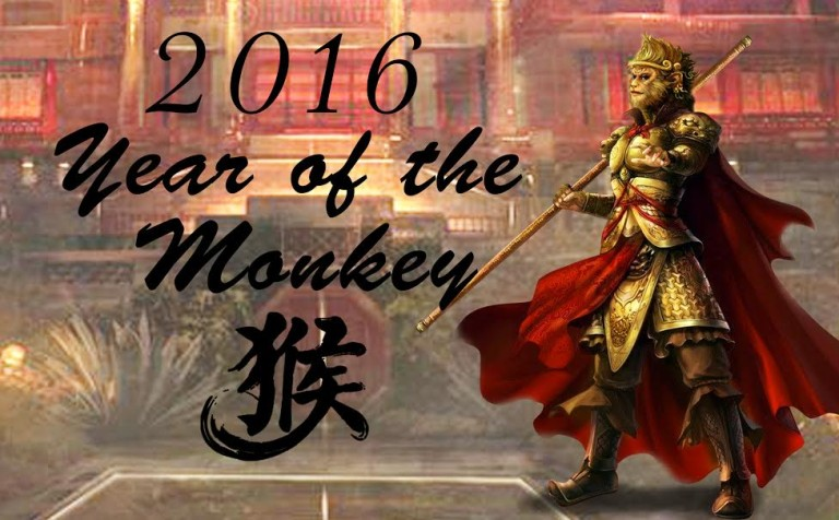 Join me in Greeting the Year of the Fire Monkey