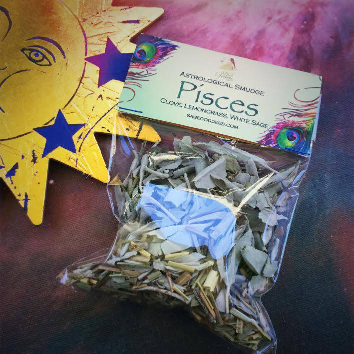 Astrological Smudging Herbs for invoking and honoring your sun sign