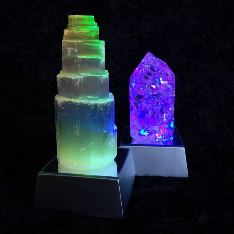 gemstone light stands