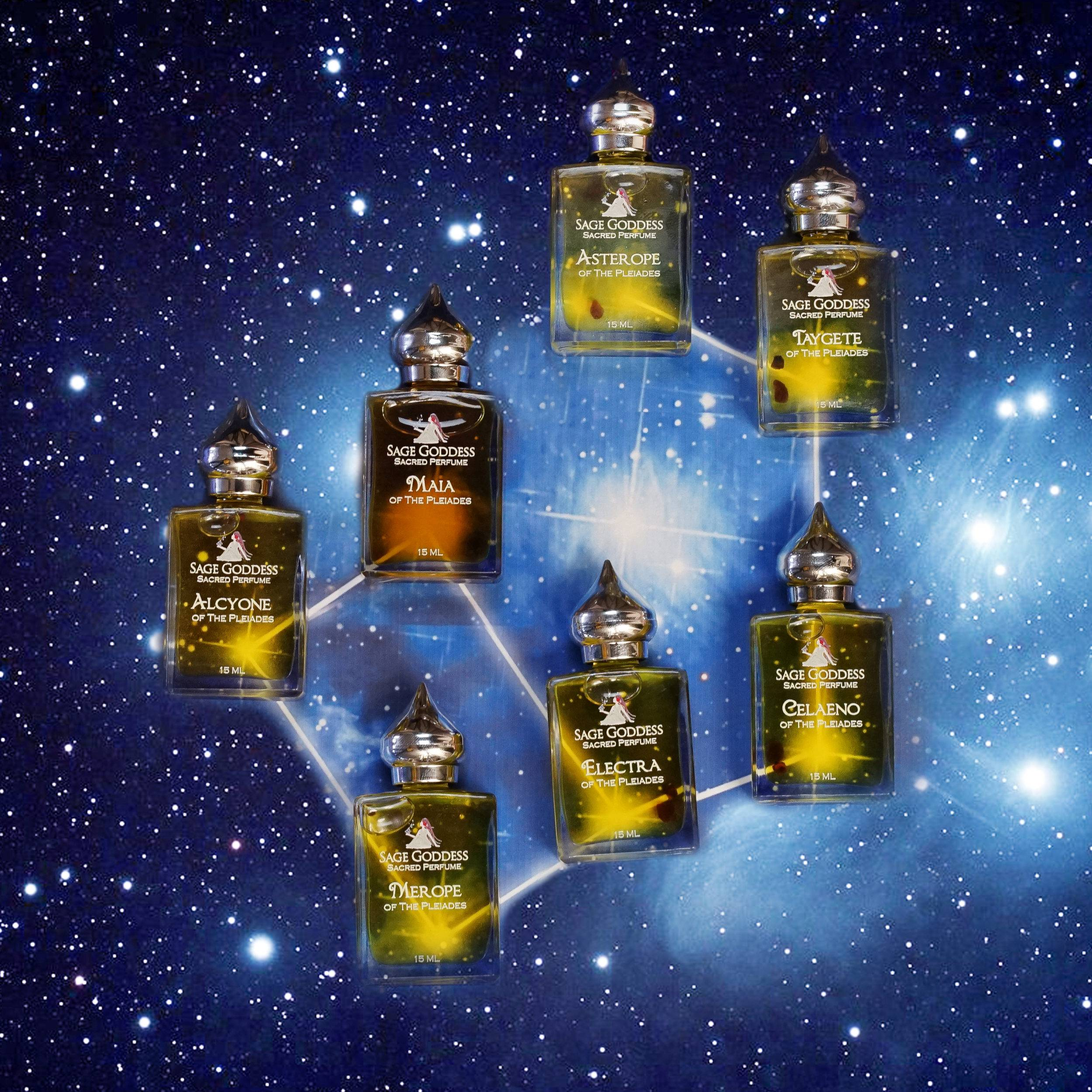 Merope Pleiadian Perfume for remaining true to your heart