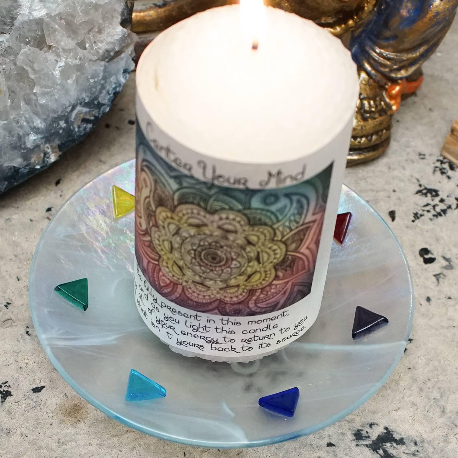 chakra candle holders
