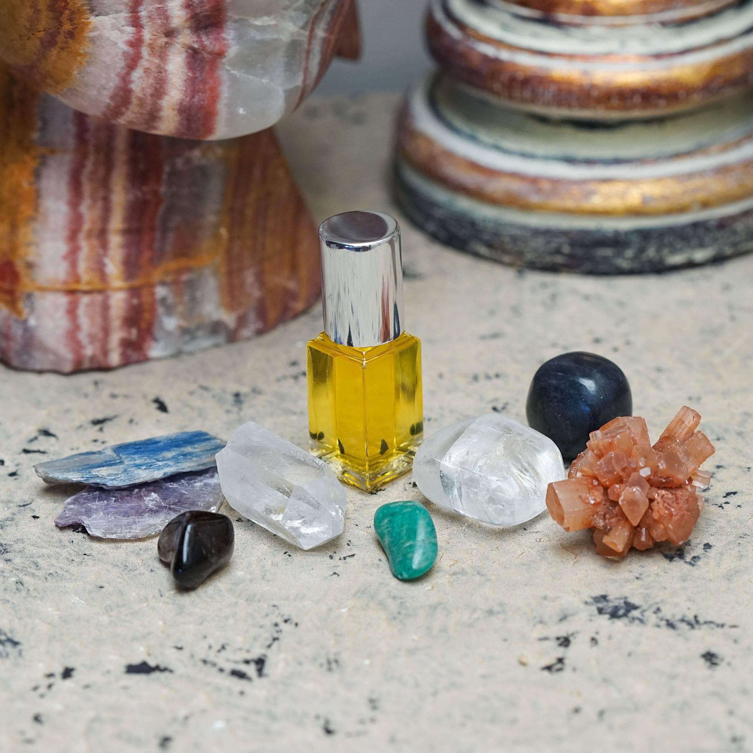empath shielding stones set
