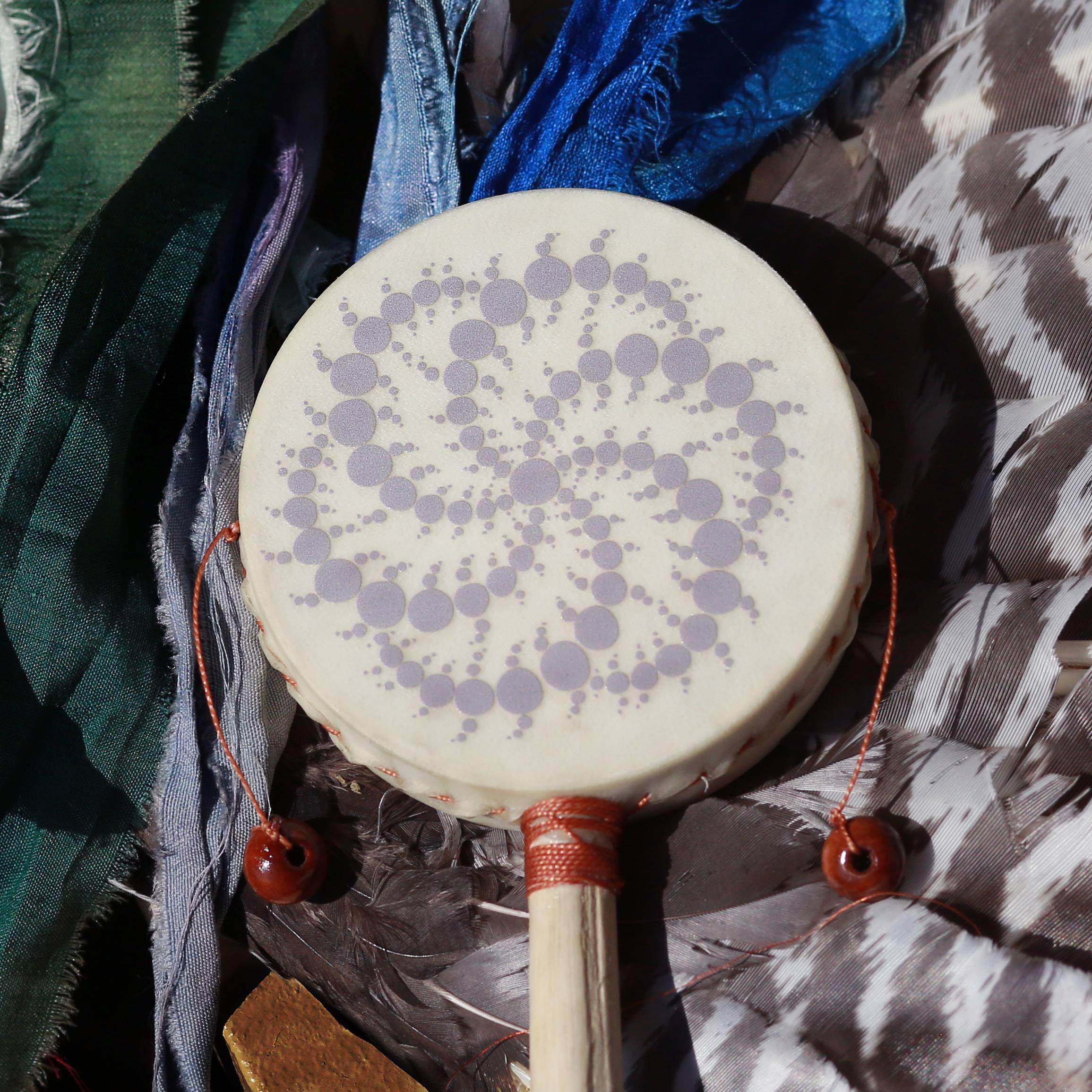 rattle drum fractal print