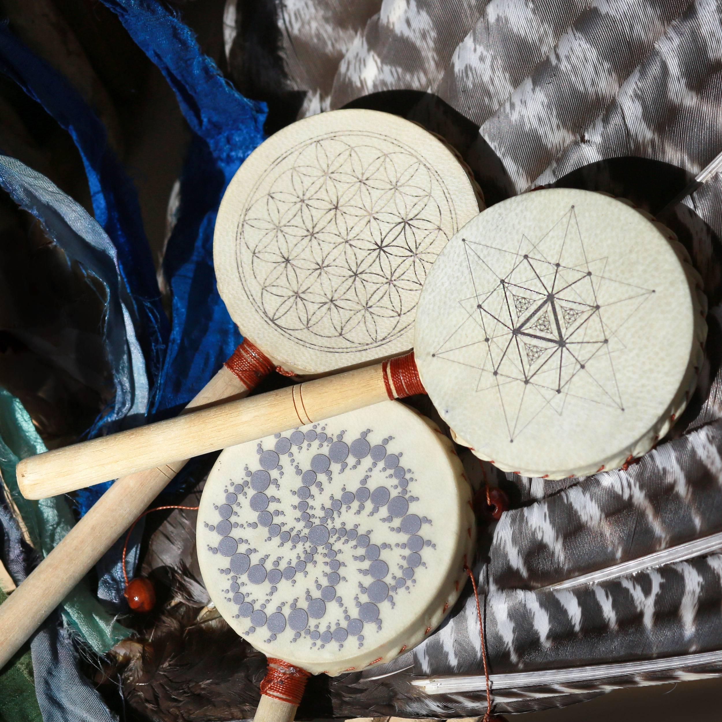 Rattle drums