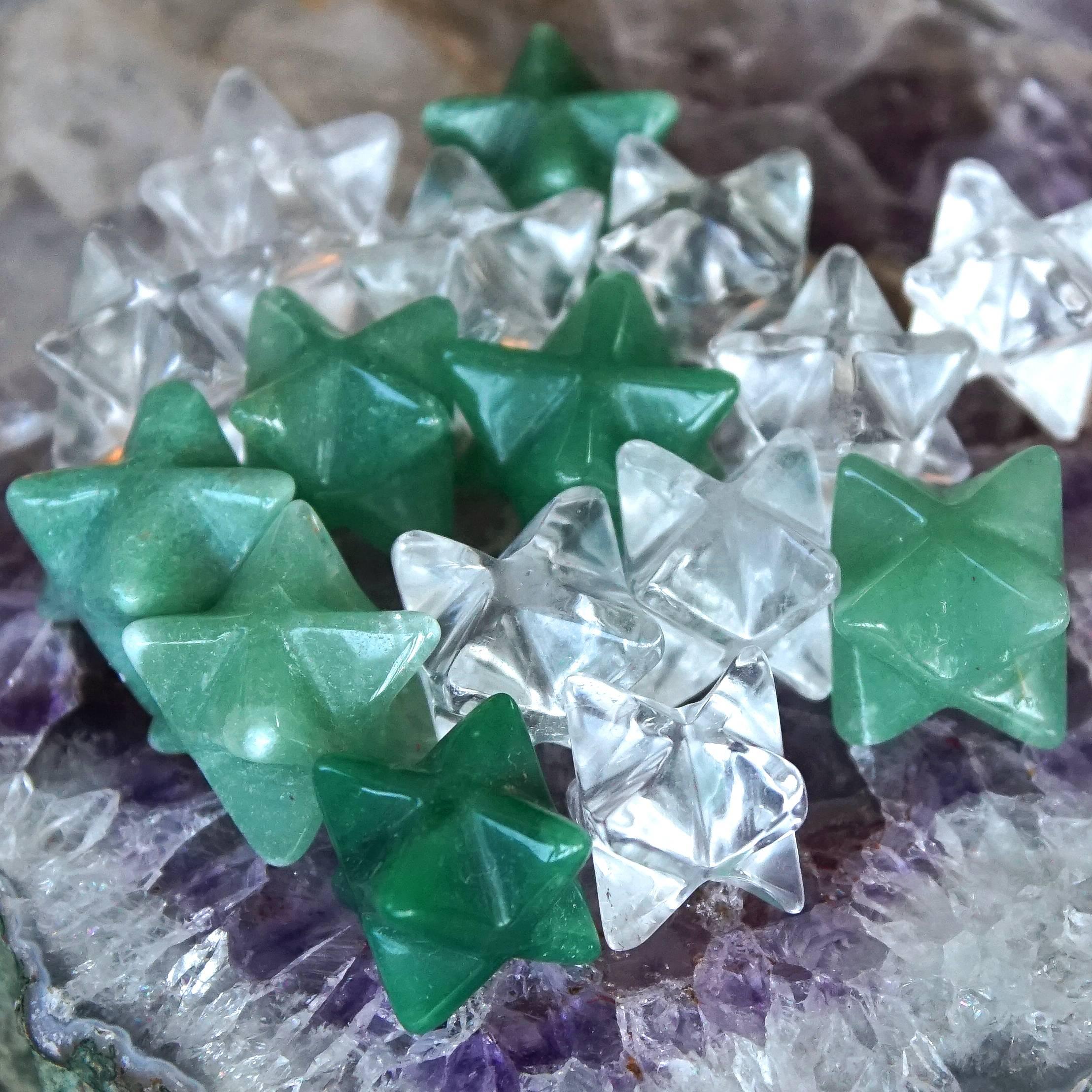 crystal merkabas
