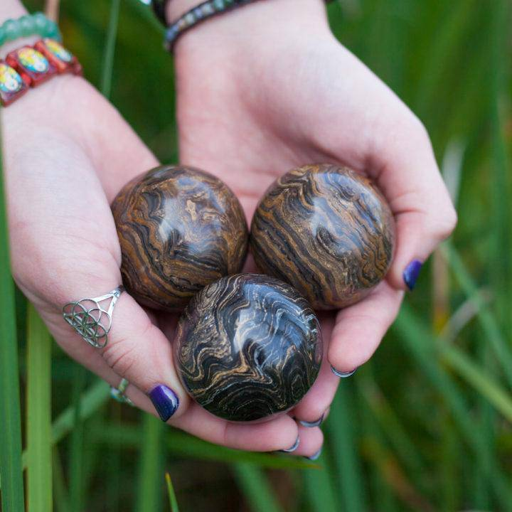 Stromatolite Sphere 3_25