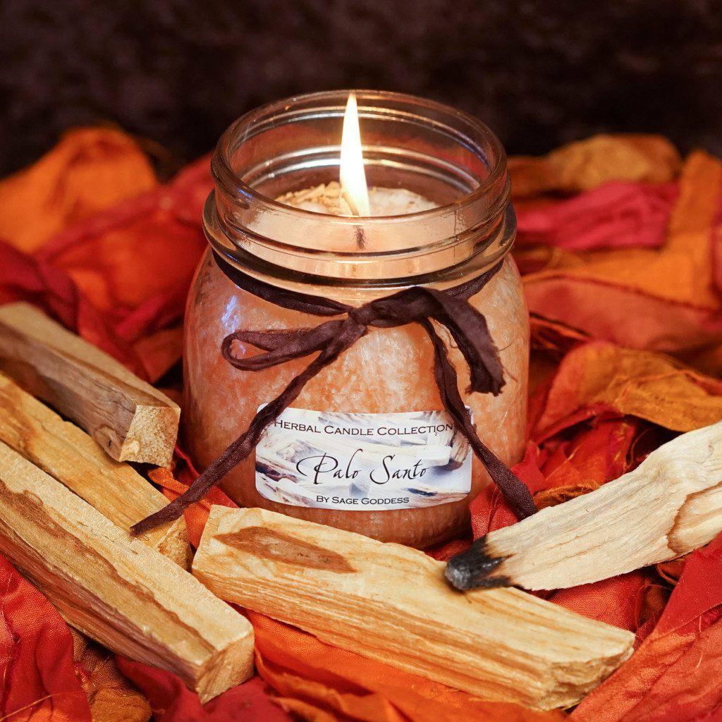 Palo Santo Herbal Candles