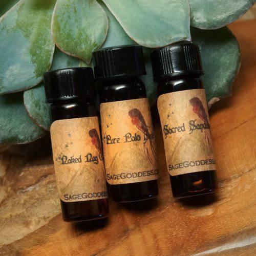 Sacred Ceremony perfume trio