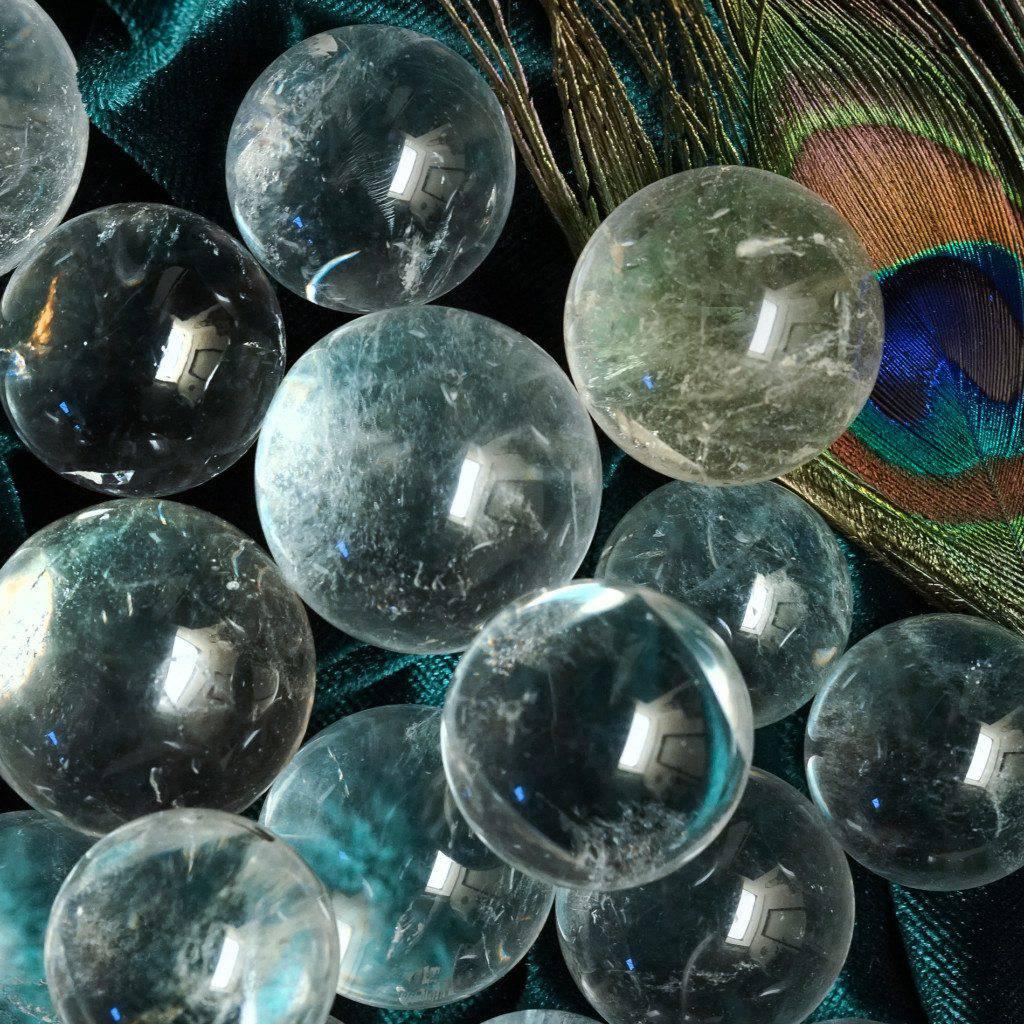 clear quartz sphere magic