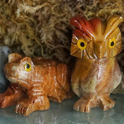 soapstone animals