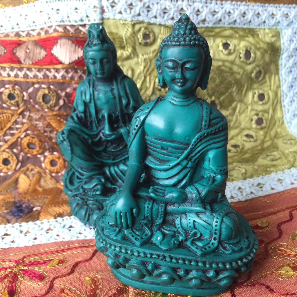 buddha-and-quan-yin-statues