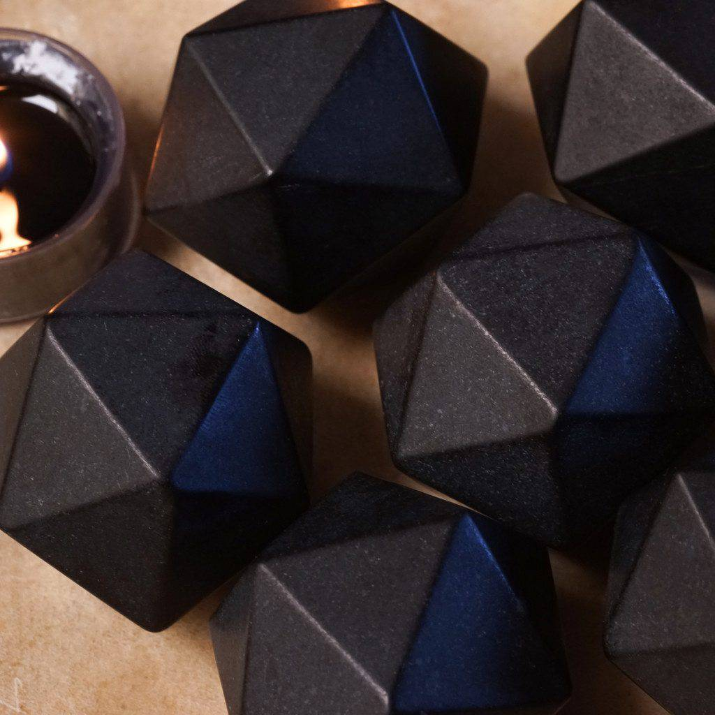 icosahedron gemstone sacred geometry