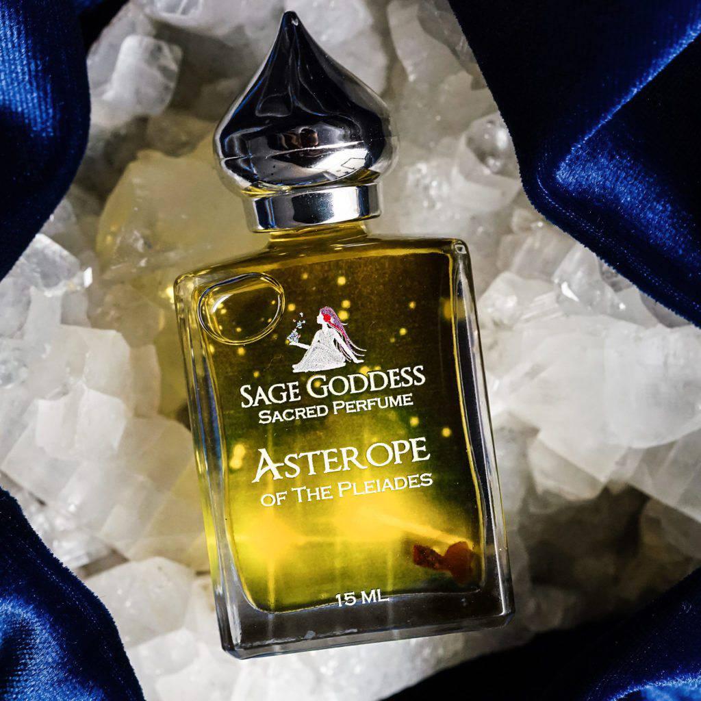 Asterope Pleiadian perfume