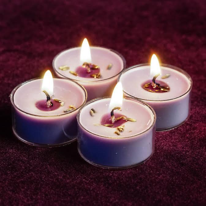 Dharma tea lights