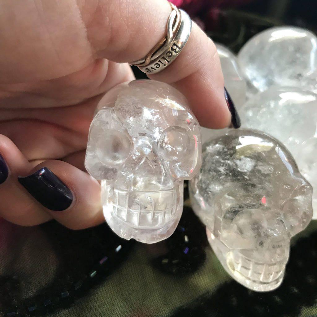 quartz skulls
